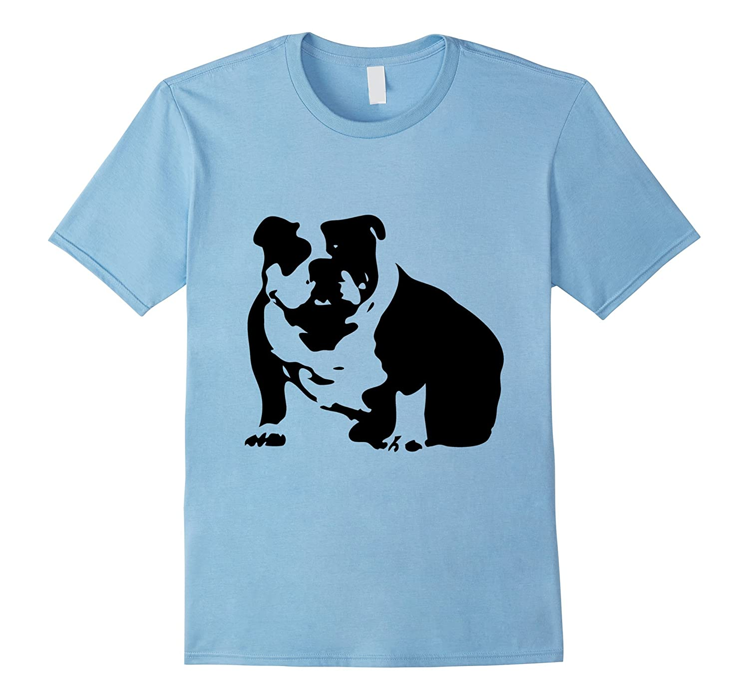 f99f5bd9d Abstract English Bulldog T-shirt – Dog lovers Tshirt-CL – Colamaga