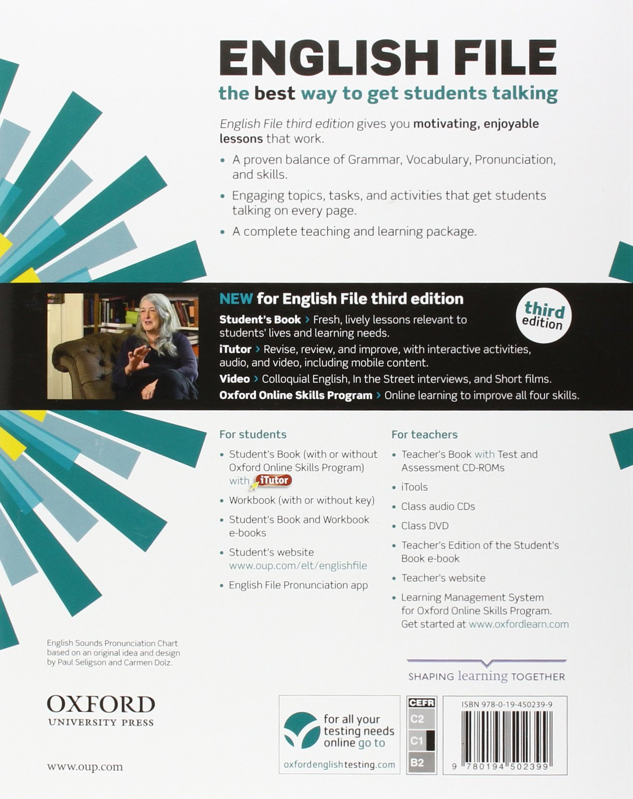 English File Advanced Student S Book With Itutor The Best Way To Get Your Students Talking Amazon Co Uk Oxenden Clive Latham Koenig Christina 9780194502399 Books