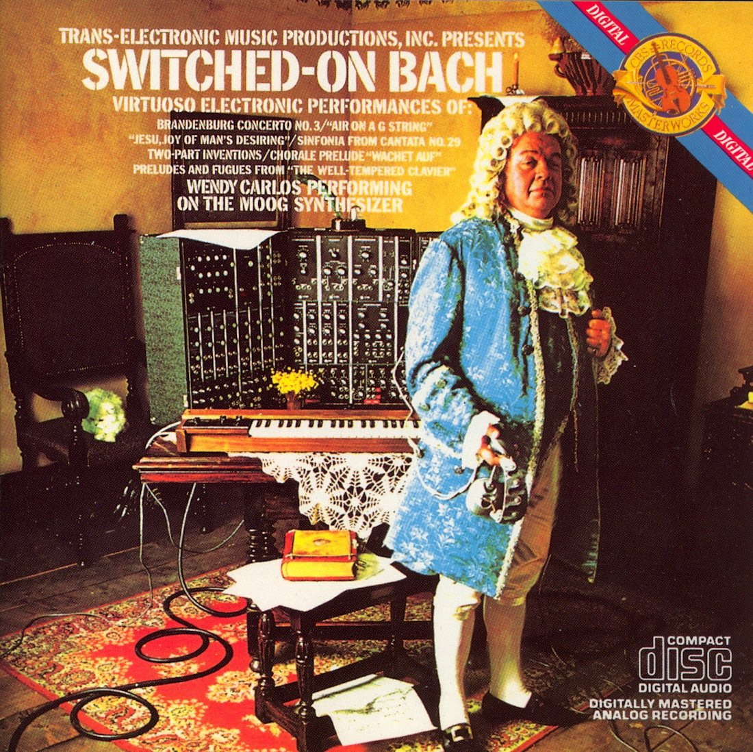 Switched-On Bach by CBS Masterworks