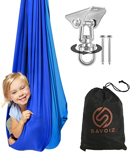 SAVOIZ Indoor Therapy Swing - the best outdoor hammock for the money