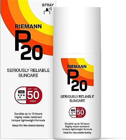 Riemann P20 Una Vez al Día 10 Horas protección SPF50 Plus ...