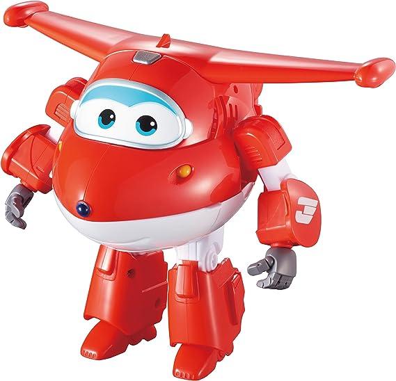 "Auldey - Super Wings ""Transform'n'Talk"" JETT Figurine Transformable parlante-YW710310"