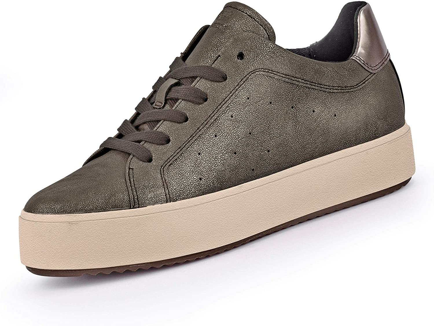 Geox Womens Blomiee High Trainers in