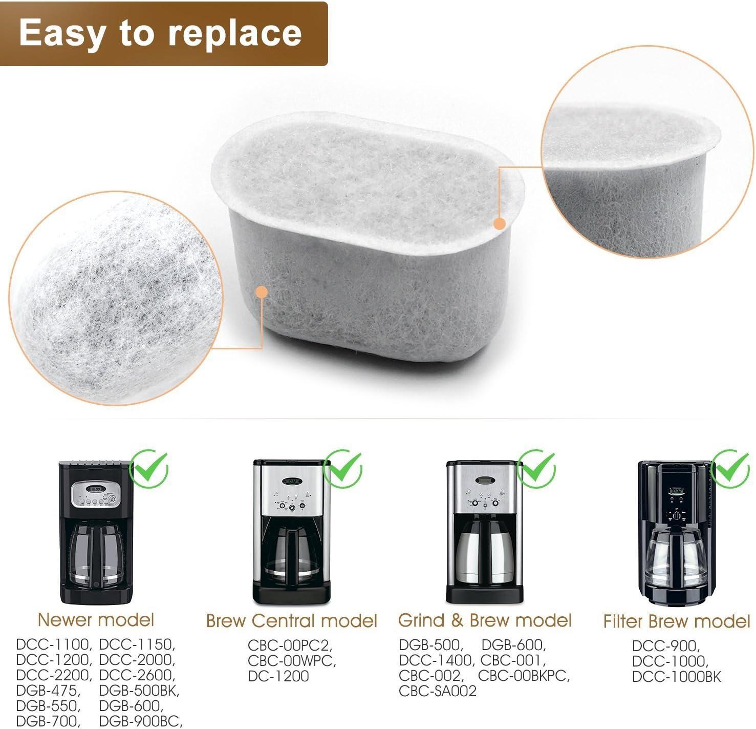 Amazon.com: Filtros de agua de carbón de repuesto para uso ...