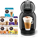 Nescafe Dolce Gusto Mini Me Coffee Machine (with 5 Capsule Boxes), Black