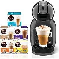 Nescafe Dolce Gusto Mini Me Coffee Machine, Black + 5 Capsule Boxes (80 Capsules)