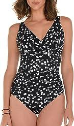 f48f3bc1448 Trimshaper Polka Dot Pattern One Piece