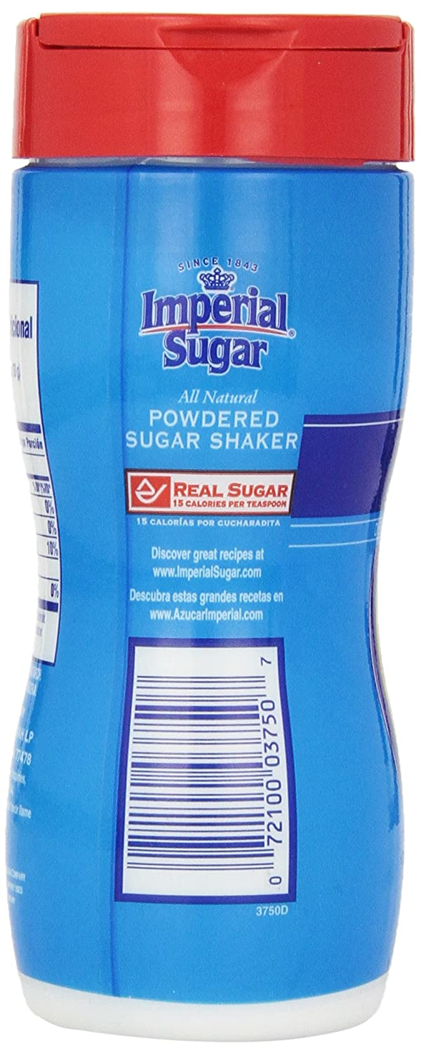 Amazon.com : Imperial Powdered Sugar Shaker, 8-Ounce (Pack of 6) : Sugar Products : Grocery & Gourmet Food