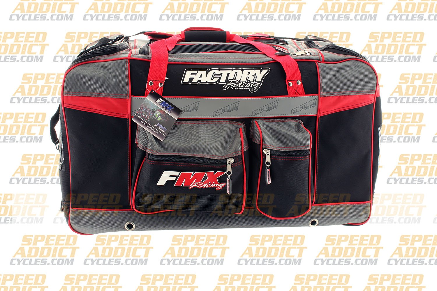 Factory FMX Motorcross Gear Bag XLarge Red by Factory Racing (Image #5)