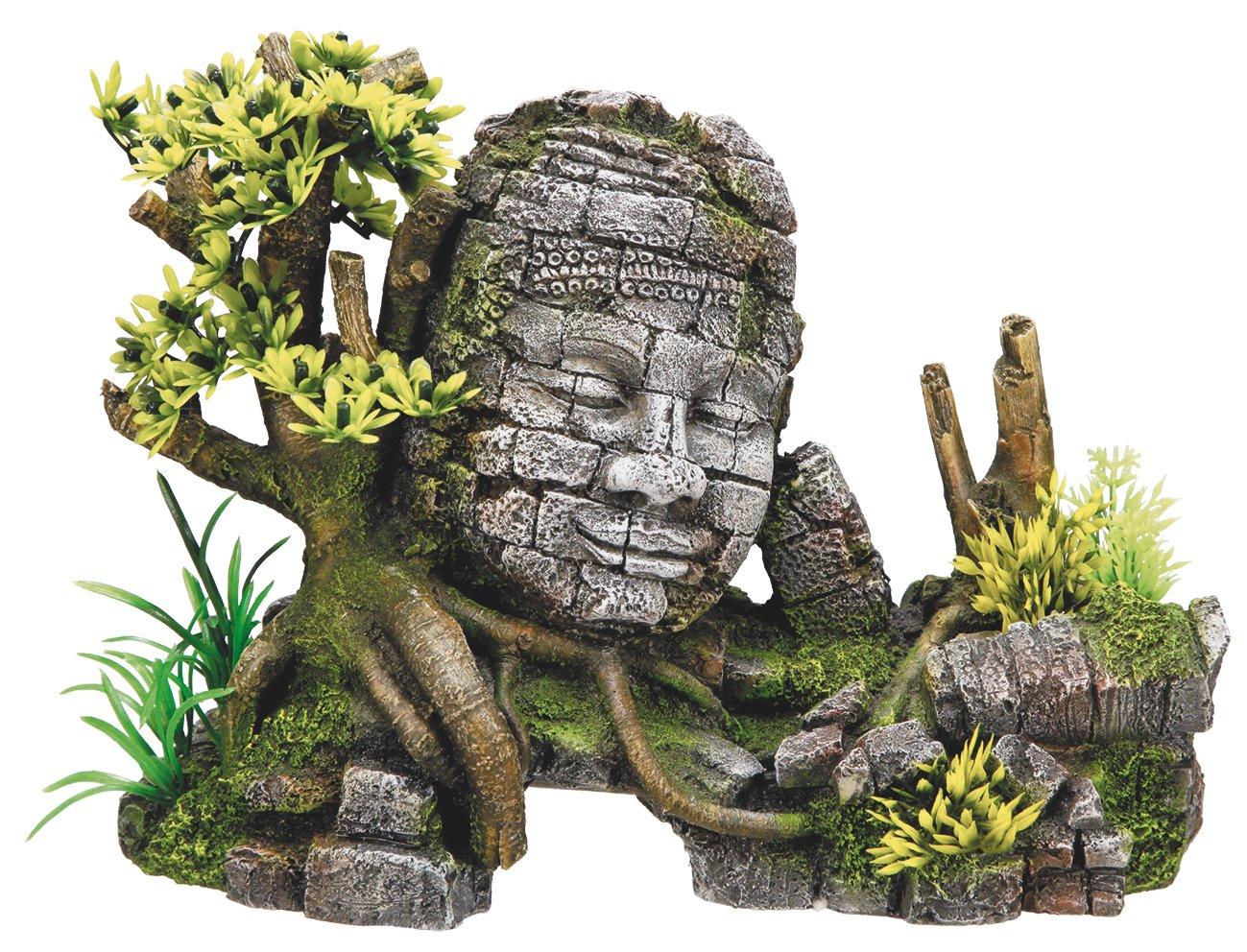 Nobby 28283 Décoration pour aquarium Temple Angkor Vat 25 x 12, 5 x 18 cm