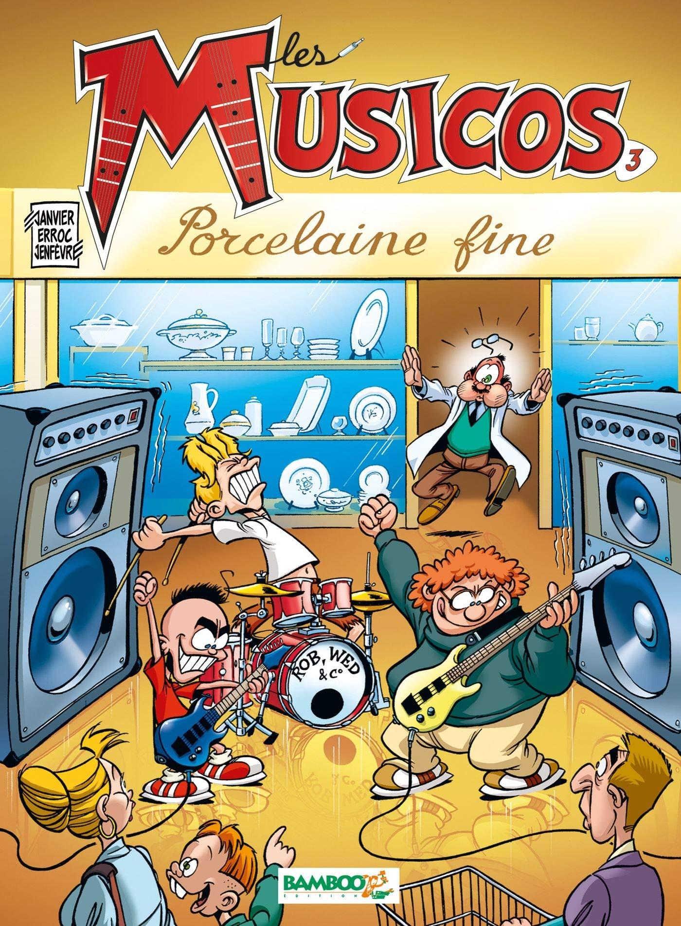 Les Musicos, tome 3