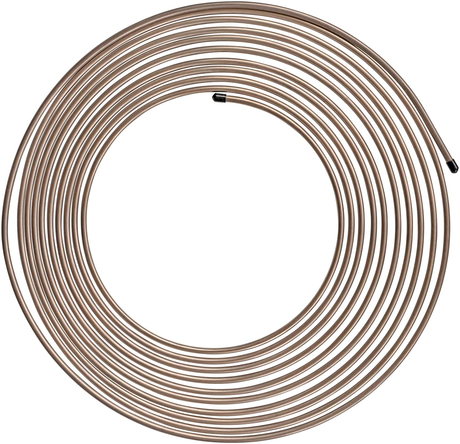 Wall Thickness Easy to hand bend 25 ft 3//16 Copper-Nickel Brake Line Complete Replacement Brake or Fuel Tubing .028 Not included fittings