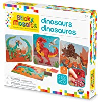 "Orb Factory Sticky Mosaics Dinosaurs Arts & Crafts, Green/Brown/Orange/Blue, 12"" x 2"" x 10.75"""