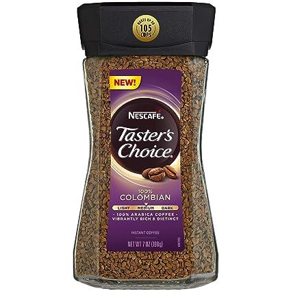 Nescafe Tasters Choice - Cafetera instantánea 100 ...
