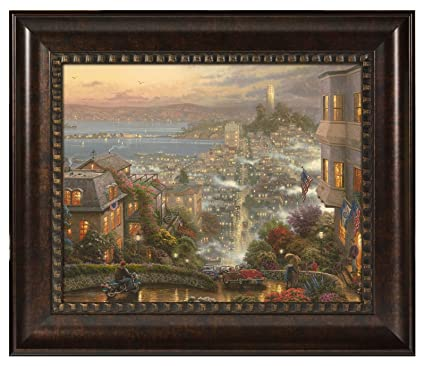 d963fff7c34 Image Unavailable. Image not available for. Color  Thomas Kinkade San  Francisco