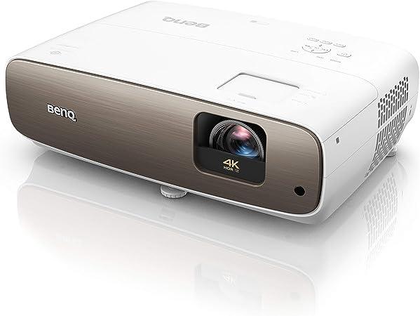 Opinión sobre BenQ W2700 - Proyector Home Cinema UHD 4K HDR-PRO (3840x2160), DLP, DCI-P3, con correccion trapezoidal automática