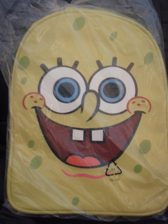 Nickelodeon mochila de bob esponja, amarillo, 23x29x10, 04712-0.900 infantil: Amazon.es: Equipaje