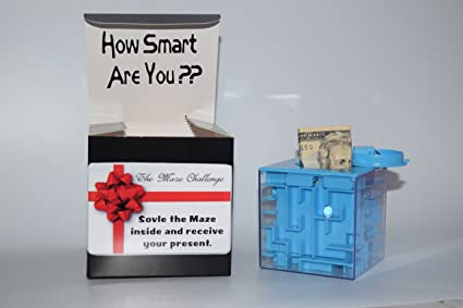 Creative Ways To Give Money For Christmas Present.Amazon Com Money Maze Box Puzzle Bank The New Way To Give