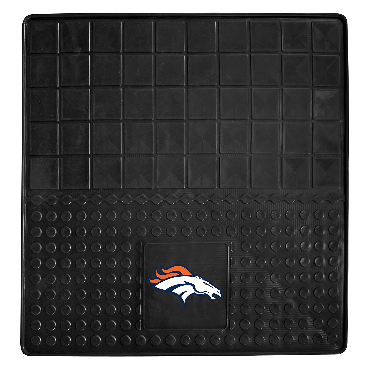 FANMATS NFL Denver Broncos Vinyl Heavy Duty Car Mat 8768