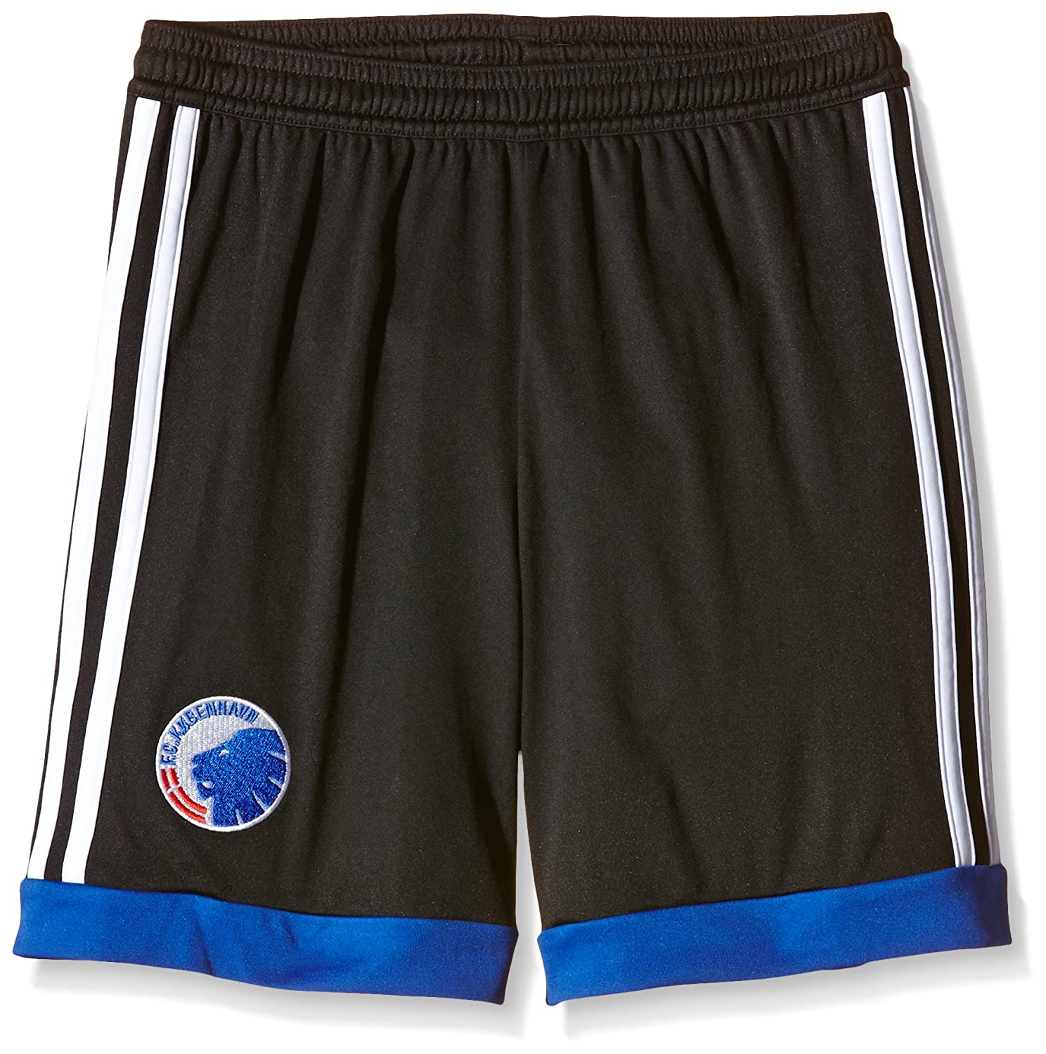 Adidas Performance FC Copenhagen Juniors Boys Away Football Shorts - Black 9-10Y AC5473