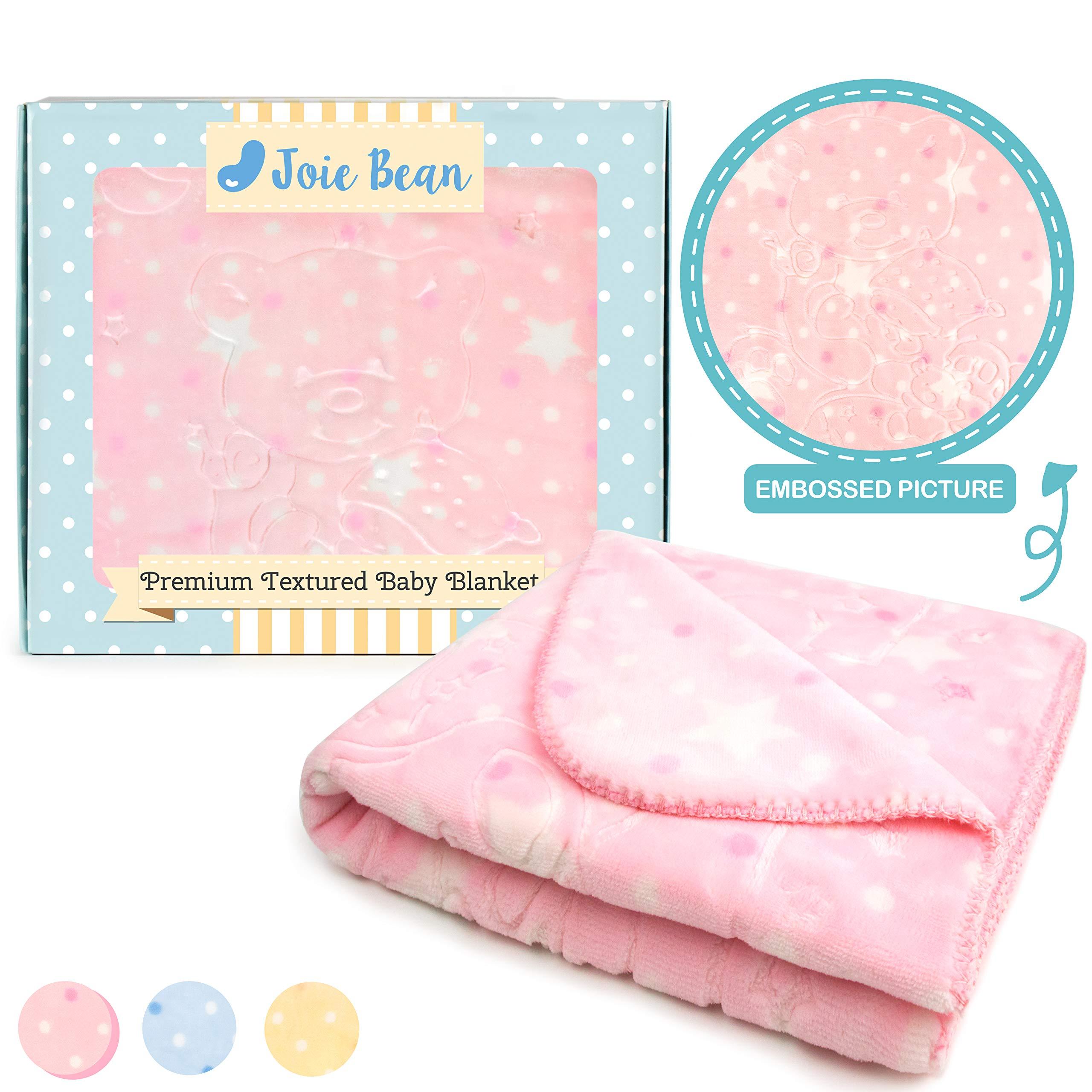 Amazon.com: JOIE BEAN Soft Plush Baby Blanket| Infant