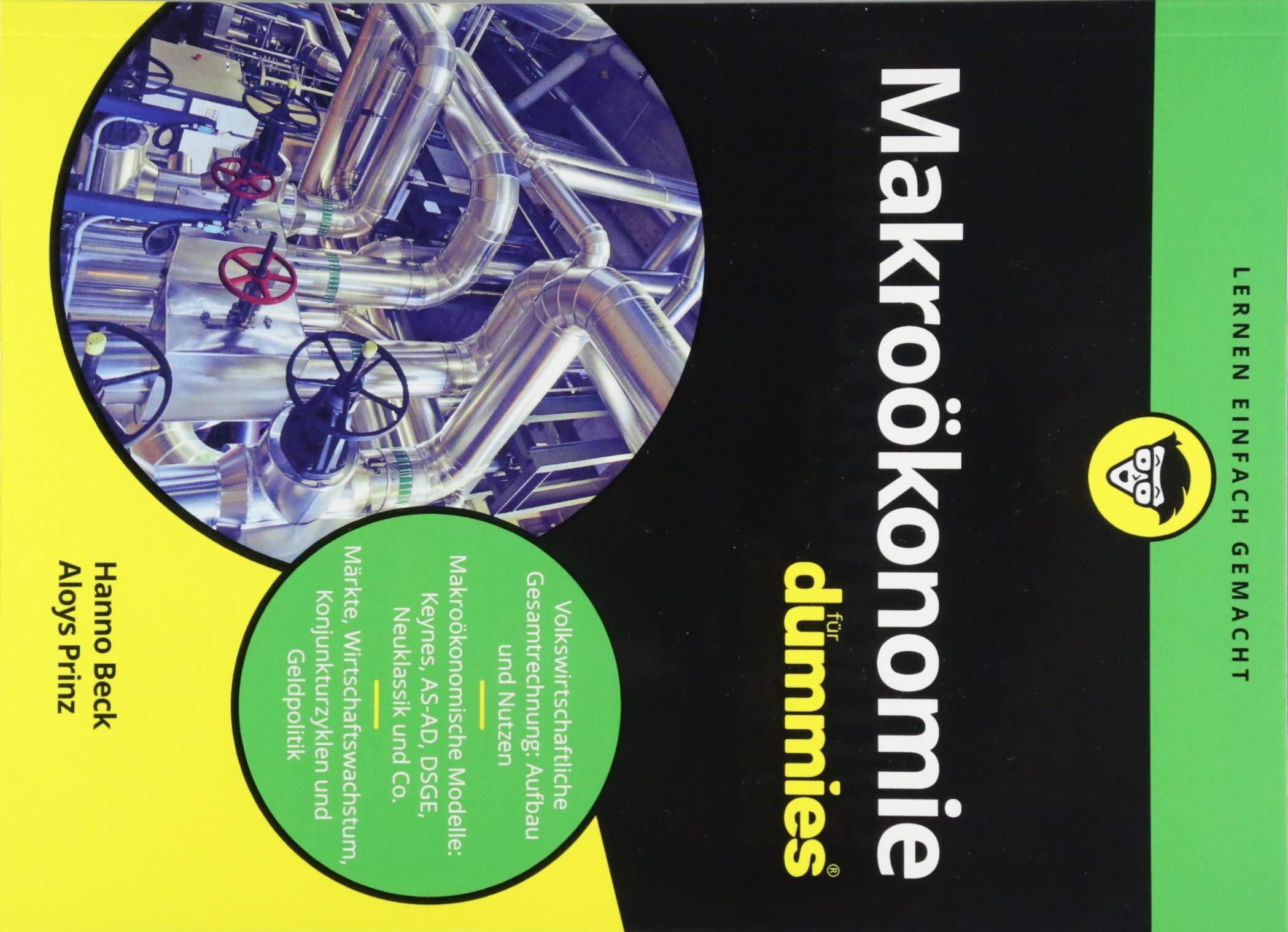 Makroökonomie für Dummies Taschenbuch – 12. September 2018 Hanno Beck Aloys Prinz Wiley-VCH 3527714197