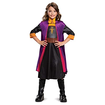 Disguise Disney Anna Frozen 2 Classic Girls' Halloween Costume: Toys & Games