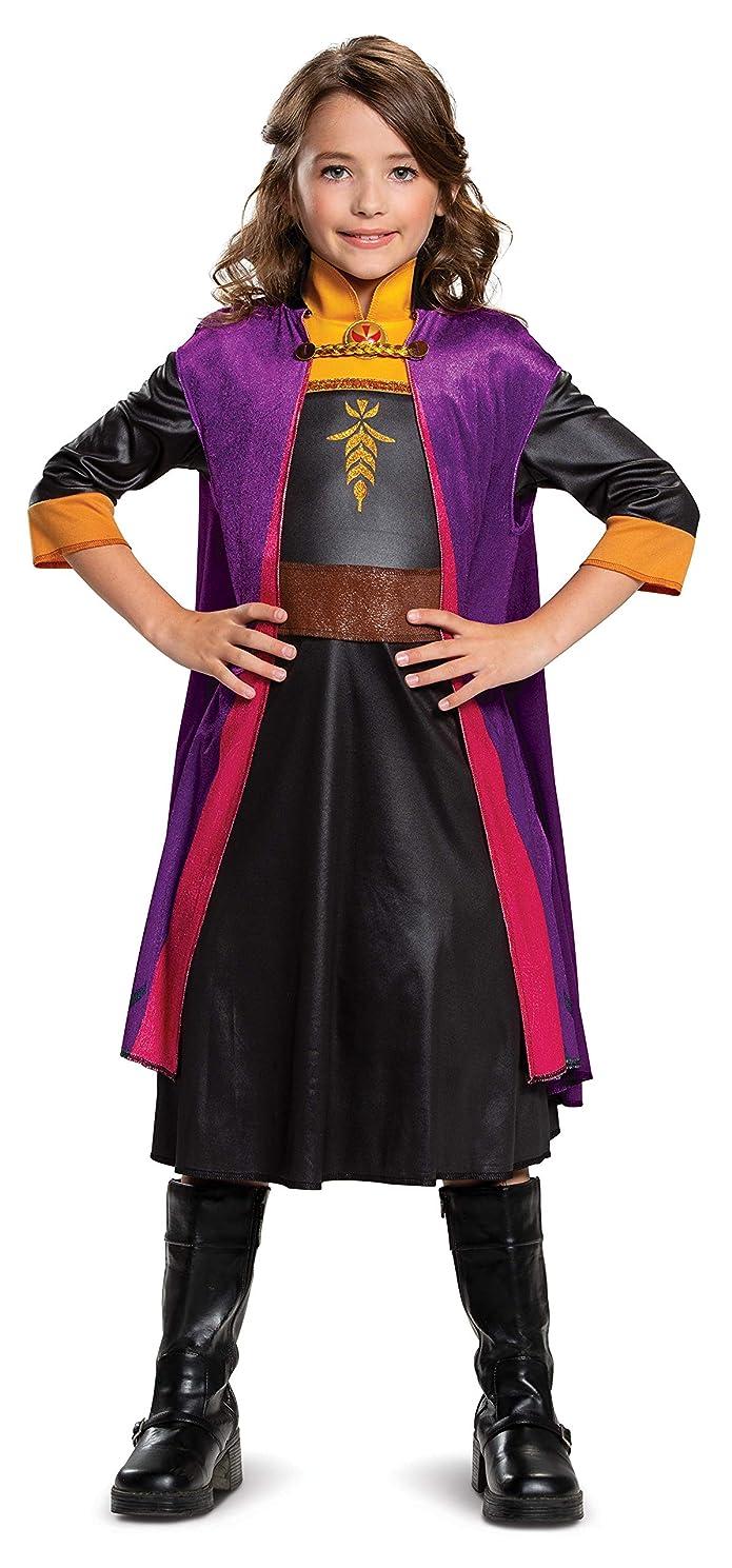 Girls' Disney Frozen 2 Anna Classic Halloween Costume S