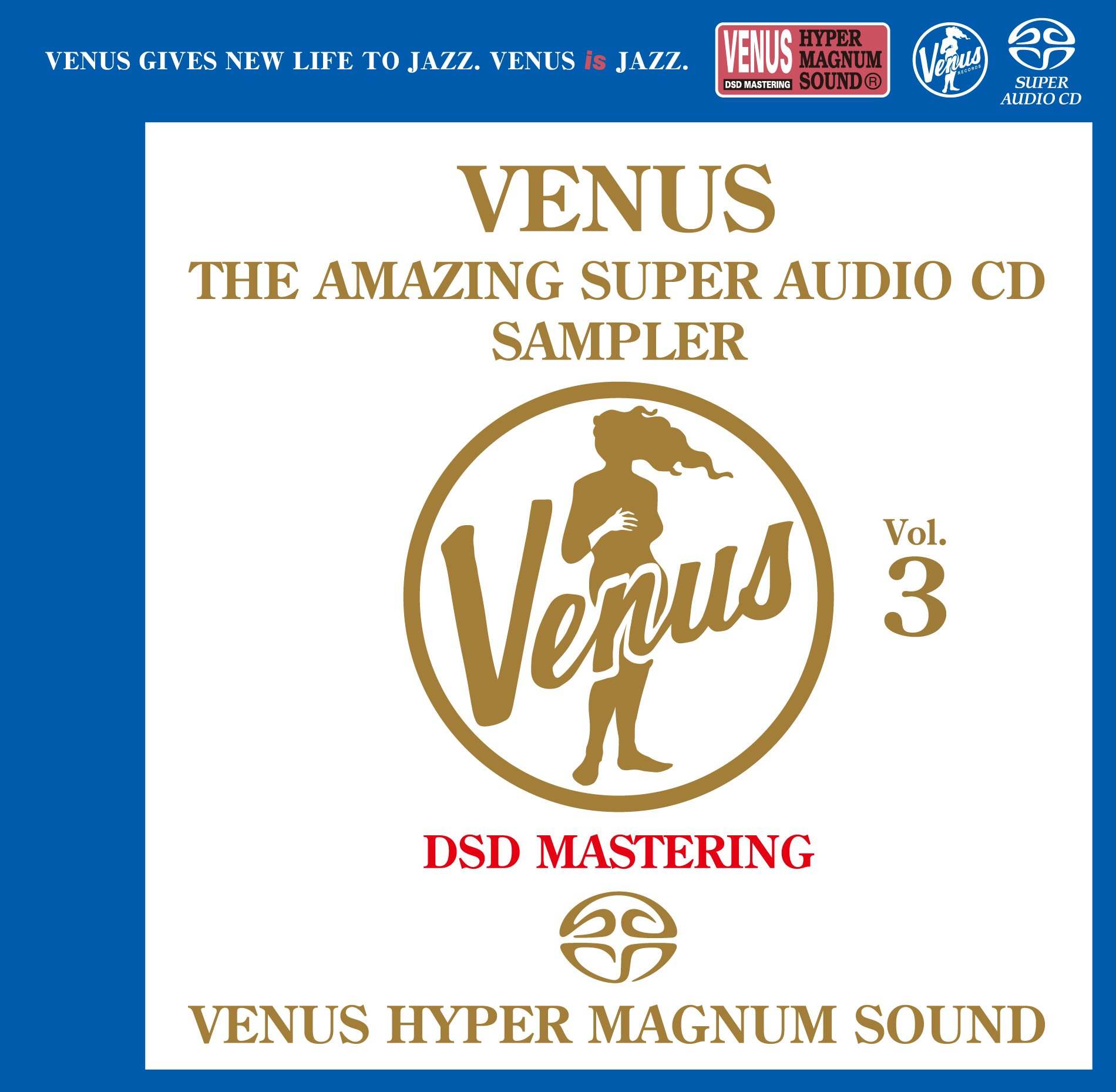 SACD : Venus Amazing SACD Sampler Vol. 3 (Japan - Import)