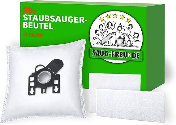 20 Staubsaugerbeutel Staubbeutel-Profi geeignet für Miele S 8340 EcoLine
