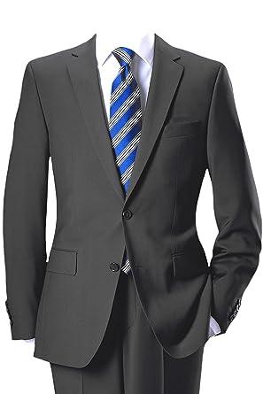 best supplier new york discount shop Pierre Cardin 2-Knopf-Anzug aus feinem Marzotto Tuch in anthrazit