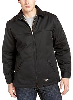 b3845d54 Dickies Men's Insulated Eisenhower Front-Zip Jacket at Amazon Men's ...