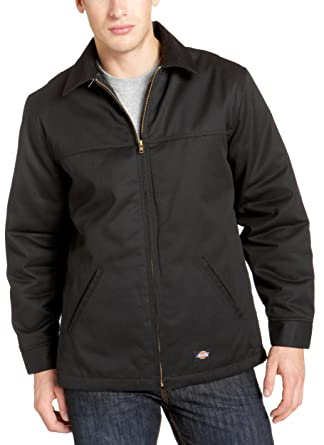 5b32eff5b67 Amazon.com  Dickies Men s Hip Length Twill Jacket Big  Work Utility  Outerwear  Clothing