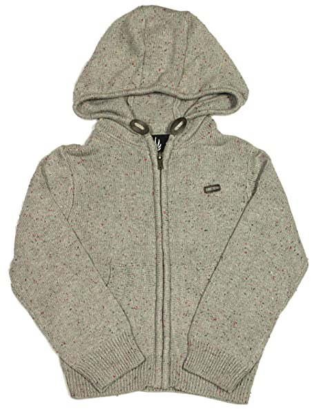 Mens Hoodie Crosshatch Couvert Cotton Hooded Pull Over Sweater