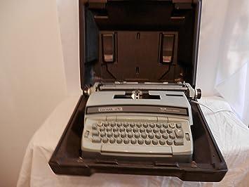 Smith Corona - Máquina de escribir Coronet Super 12 eléctrico máquina de escribir modelo 6lea fabricado en EE. UU.: Amazon.es: Electrónica
