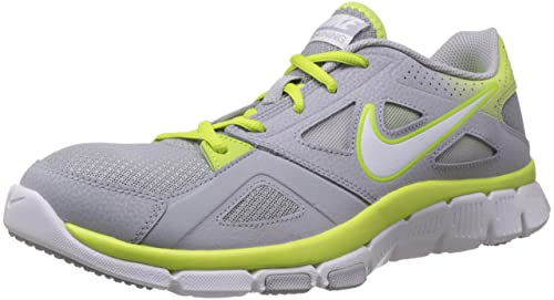 wholesale dealer 72287 0b89b Image Unavailable. Image not available for. Colour  Nike Men s Flex Supreme  Tr 2 Wolf Grey,White,Volt Outdoor Multisport Training Shoes