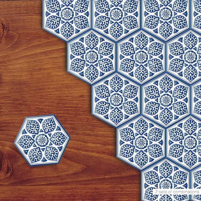 Küche Wohnzimmer Backsplash Dekoration, Entfernbarer Wasserdichter  Anti Rutsch Boden Aufkleber: Amazon.de: Küche U0026 Haushalt