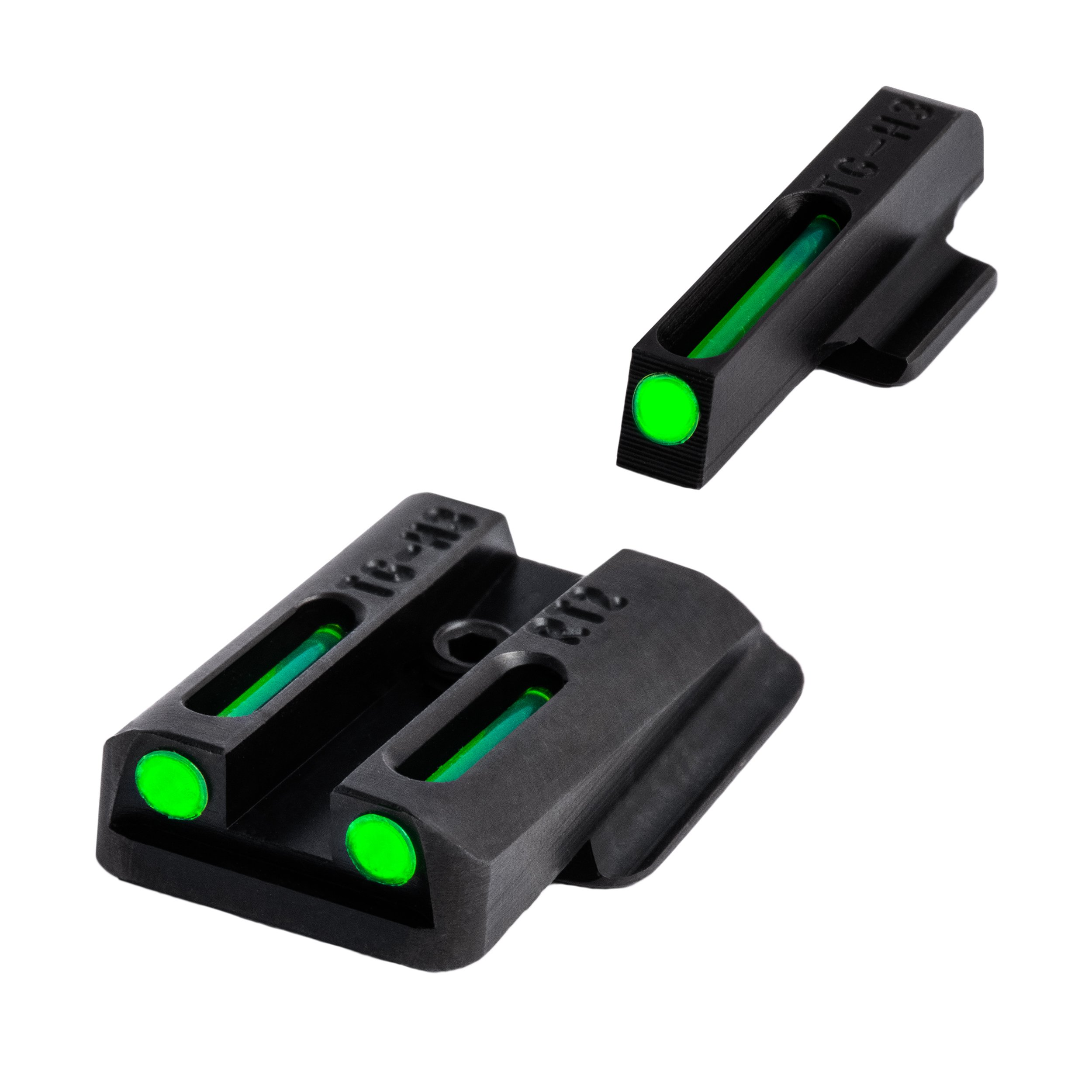 TRUGLO TFO Handgun Sight Set - Ruger LC by TRUGLO