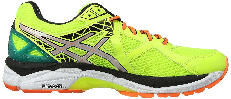 Asics GT-2000 3, Herren Outdoor Fitnessschuhe, Gelb (Flash Gelb/Silber/Emerald Grün 793), 45 EU (10 UK)