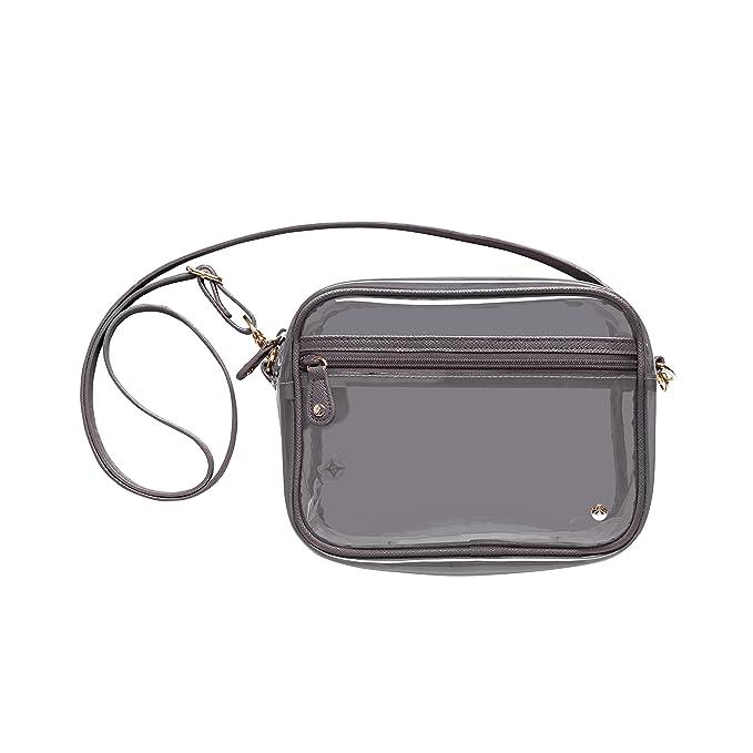 d7dbd5687 Amazon.com: Stephanie Johnson Miami Camera Crossbody Bag, Mink: Beauty