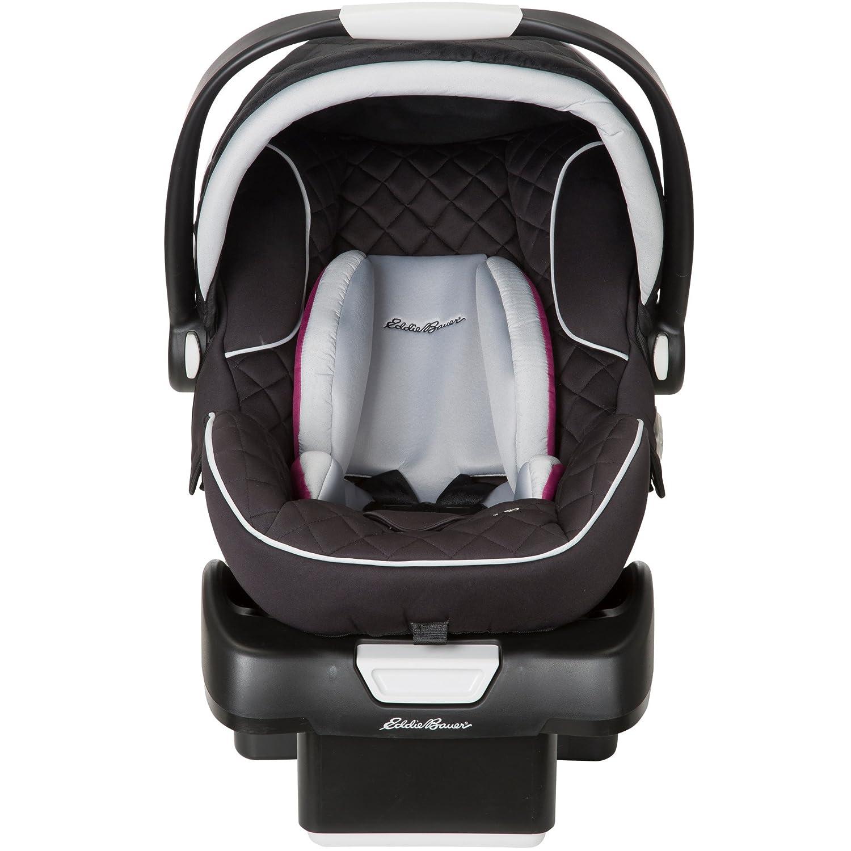Amazon Eddie Bauer SureFit Infant Car Seat Orchid Baby