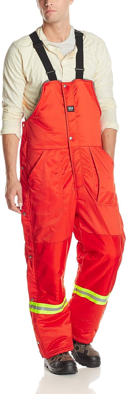 Large Helly Hansen Work Wear Mens Thompson Bib Pant Orange