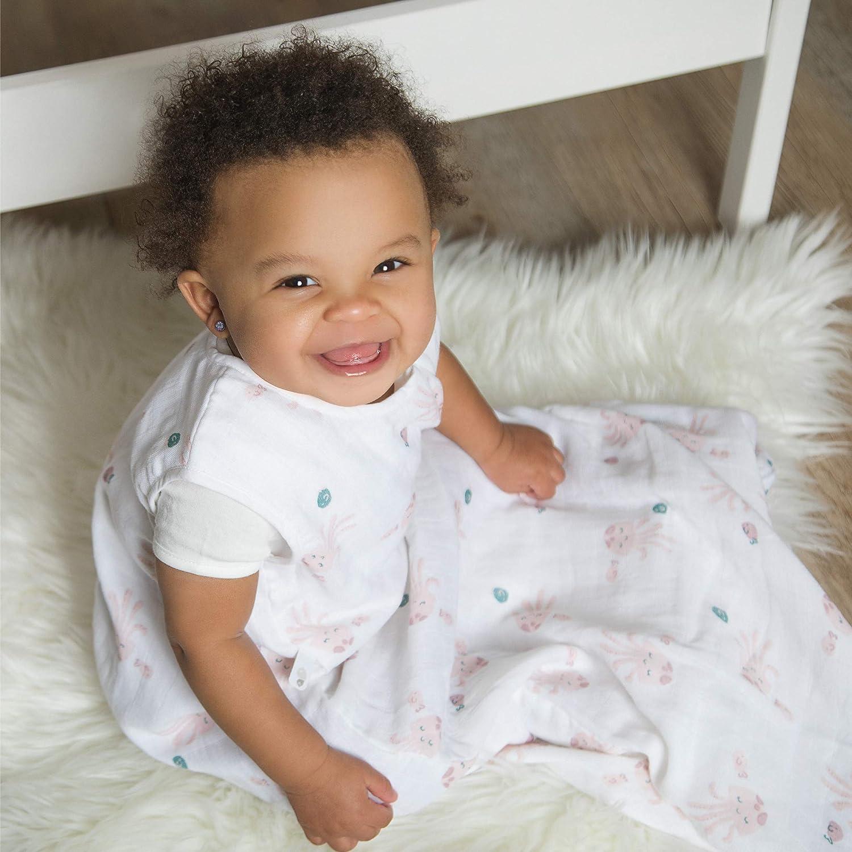 0.7 TOG Canada/'s #1 Baby Bag Perlimpinpin Muslin Sleep Sack 6-18 Months