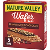 NATURE VALLEY Crispy Creamy Wafer Bars Peanut Butter Chocolate, 5 Count