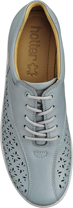 Hotter Women's Tone Extra Wide Lace Up