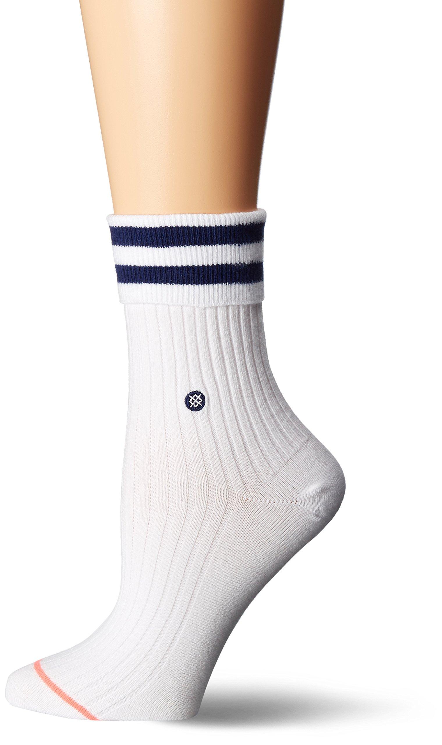 Stance Women's Uncommon Anklet, White, Medium