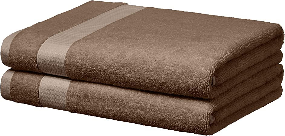Basics Everyday Towels Taupe 2 Bath