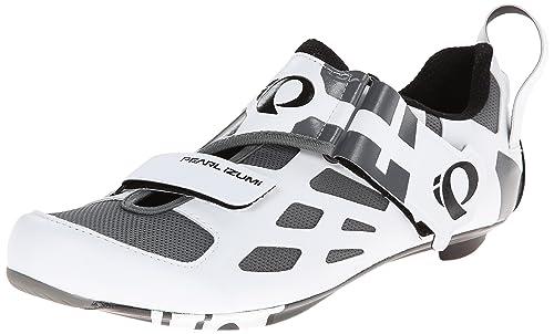 Pearl Izumi TriFly V - Zapatillas de Ciclismo de Carbono para Hombre, Color Blanco, Talla 41.5EU: Amazon.es: Zapatos y complementos