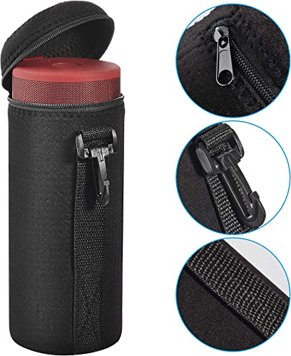 TXEsign Water-Resistant Lycra Zipper Carrying Case Bag Compatible with UE MEGABOOM MEGABOOM 3 Wireless Bluetooth Speaker