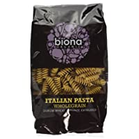 Biona Organic Whole Fusilli, 500 g